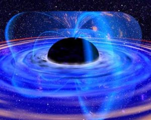 Artist's conception of a black hole. Credit: NASA