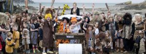 Flintstone Wedding Party